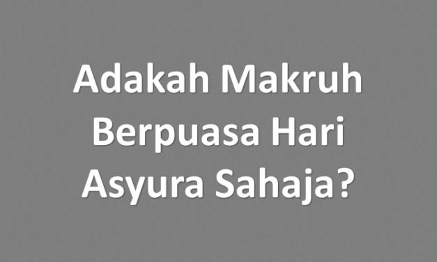 Benarkah Makruh Berpuasa Asyura Tanpa Puasa Tasu'a (9 Muharam)?